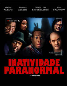 Inatividade paranormal (A haunted house)